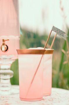 Pink Lemonade - Wedding Reception Beverage