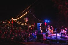 First Aid Kit band at the Henry Miller Library, Big Sur, California