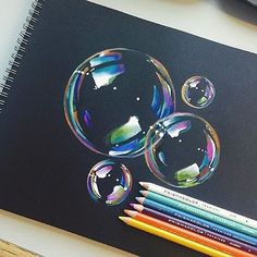 Bubble Drawing By @mannneylucero _ Check out our other page @arts__gallery
