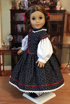Civil War Dress for 8 inch dolls like Marie Grace by BabiesArtUs, $65.00