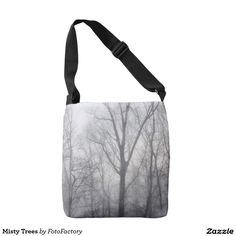 Misty Trees Crossbody Bag