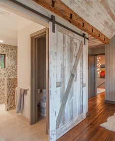 Awesome 15 Dreamy Sliding Barn Door Designs. Log Cabin Floor PlansModern BarnModern  Rustic HomesSliding ...