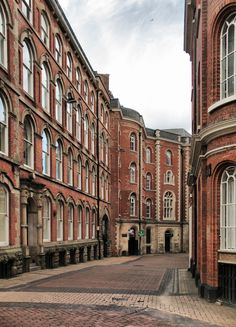 Broadway in Nottingham's Lace Market, England