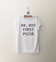 OK but first Pizza • Sweatshirt • Clothes Casual Outift for • teens • movies •…