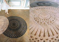 arzu firuz – vinyl laser cut rugs at Sub-Studio Design Blog