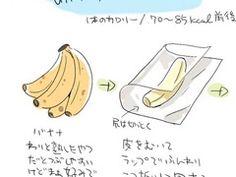 peel, wrap in plastic, mash, bag, freeze.  new way to eat bananas in summer.