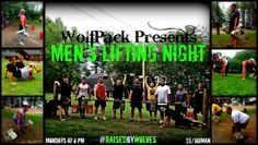 """We believe in helping to build people up here at WolfPack Fitness, not tear them down. That's why when we say, """"raised by wolves"""", we mean that we help elevate each other to become better, strong human beings from the inside out. Tonight was no exception.  There was no hype necessary for this workout. It was all killer, no filler. This month's theme is """"Strong Man"""" for Men's Lifting Night so we created a circuit that featured some of the classic strong man lifts like deadlifting & overhead…"""