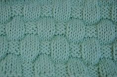 Ravelry: Puffy Basketweave Baby Blanket pattern by Cathy Waldie