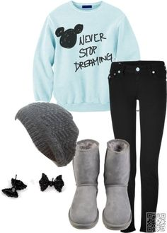 18. #DISNEY - 29 Chic Fall Outfits for Teens ... → #Fashion #Outfits