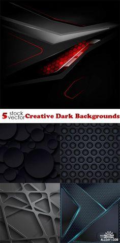 Vectors - Creative Dark Backgrounds