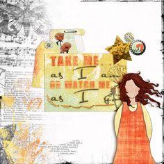 Color Play - As I Am - Scrap Art Studio Gallery