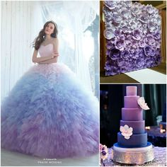 Obsessed with the ombre trend? From colorful venue decor to dresses, take a look at the cutest ombre quinceanera ideas that'll make your party stand out! Quinceanera Planning, Quinceanera Decorations, Quinceanera Party, Quinceanera Dresses, Sweet 15 Quinceanera, Xv Dresses, Quince Dresses, Prom Dresses, Wedding Dresses