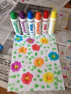 Fun craft while babysitting