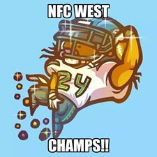 NFC west champs!
