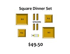 GR Forms Dinnerware Set Square Promo code CATIE to save 10%