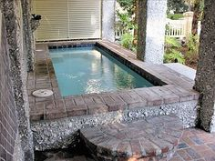 I think we definitely could add a small pool like this in the back...right???