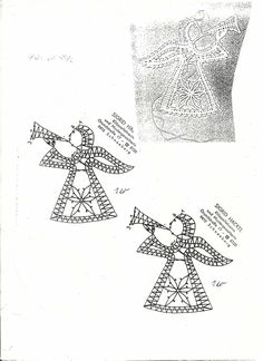renda de bilros / bobbin lace Natal / Christmas Bobbin Lace Patterns, Bead Loom Patterns, Stitch Patterns, Hairpin Lace Crochet, Crochet Edgings, Crochet Motif, Crochet Shawl, Doily Art, Bobbin Lacemaking