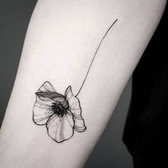 Small Tattoos sells temporary tattoos designed by professional artists and designers. Our temporary tattoos are safe and non-toxic. Small Forearm Tattoos, Small Flower Tattoos, Small Tattoos, Poppy Tattoo Small, Tattoo Ideas Flower, Black And White Flower Tattoo, Tattoo Forearm, Little Tattoos, Mini Tattoos