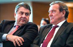 """Gabriel, Schröder im Dezember 2016: """"Das Wichtigste ist: Du musst es wollen."""""""