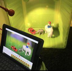 Källkritik med Green Screen - Förskolebanken - Inspirerande idéer Stop Motion Movies, Au Pair, Chroma Key, Projects For Kids, Storytelling, Middle School, Kindergarten, Paper Crafts, Education