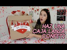 Caja Explosiva de Amor - Explosive Box of Love - Creaciones Betina - YouTube