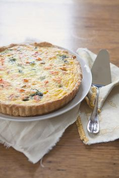 Smoked Salmon and Spinach Quiche