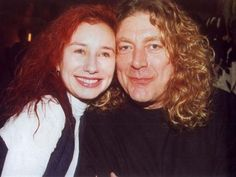 Tori and Robert Plant - LOVE this photo! My favorite with my dad's favorite: how the generation music gap began to fill...