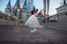 Disney's Magic Kingdom is the ultimate choice for a Cinderella inspired portrait session. Photo: Ty, Disney Fine Art Photography