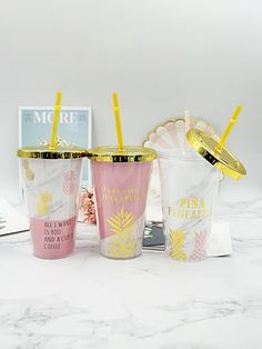 To find out about the Random Pineapple Print Straw Cup at SHEIN, part of our latest Drinkware ready to shop online today! Iced Coffee Cup, Tapas, Cup Crafts, Cup With Straw, Pineapple Print, Tumbler Cups, Drinkware, Cup And Saucer, Free Gifts