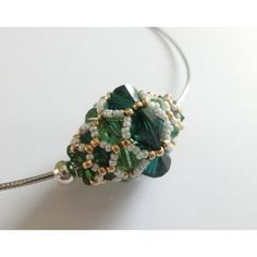 großartige Perle aus Swarovski-Perlen und Miyukis