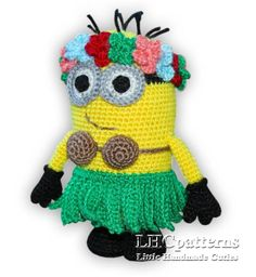 Minion Hula / Hawaii Girl Pattern via Craftsy
