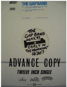 At £6.98  http://www.ebay.co.uk/itm/Gap-Band-Early-Morning-Advance-Copy-12-Mercury-Records-MERX-97-/261106486778