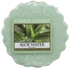 Yankee Candle Aloe Water Wax Melt Tart ($2.30) ❤ liked on Polyvore featuring home, home decor, home fragrance, yankee candle, yankee candle wax melts, yankee candle wax tarts and scented wax tarts