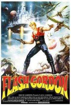 Flash Gordon movie poster, 1980