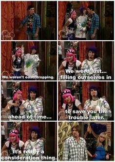 Hannah Montana. I miss this show!