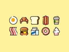 Breakfest by lulu - Dribbble