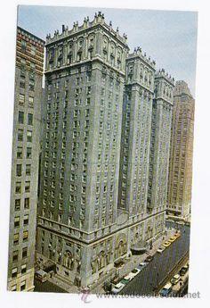 NUEVA YORK - PARK AVENUE AT EAST 34TH. STREET (CIRCULADA 1964)