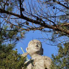 The giant statue of Kobo Daishi in Ishite near Ishite-ji Temple Shikoku Tours - Google+ #shikoku #pilgrimage #ohenro #ishiteji