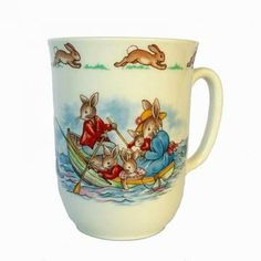 Royal Doulton Child's Cup Bunnykins Fishing Theme by Hoopties for $10.00