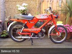 Batavus HS 50 rood 1976