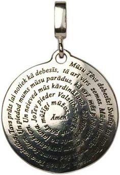 Lord's Prayer from BalticShop.com