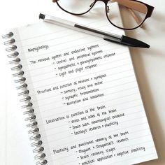 topics to study for biopsychology #studygram