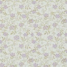 William Morris & Co Archive 3 Wallpapers Jasmine Wallpaper - Lilac/Olive - 214723