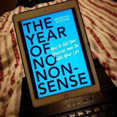 I finished #theyearofnononsense by @meredithatwoodofficial last night. I have a lot of #nonsense to clear out. .  . Im using suns instead of stars because Im dreaming of sunshine while #stormdennis rages around us.