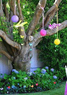 tim burton alice in wonderland birthday party ideas