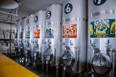 """Last month, the UK's first tank beer bar opened in London. Dispensing beer directly into the glass from specialised tanks, """"tank beer"""" is seen by many brewers as the only way to ensure freshness. Starting A Brewery, Brewery Interior, Pot Still, Brew Pub, Home Brewing, Distillery, Craft Beer, Ale, Drinks"""