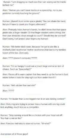Humans Are Weird / Space Australia Cursing Pt3