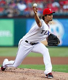 Yu Darvish strikes out 11, powers Rangers past Astros