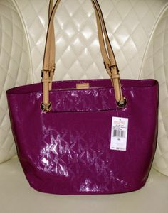 For Sale by Delia on EBay NOW!! 3 days left!!!  Michael Kors Jet Set Large Tote Bag  BRAND NEW WITH TAGS