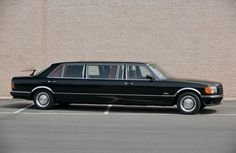 Mercedes Benz W126 1000SEL stretch limo